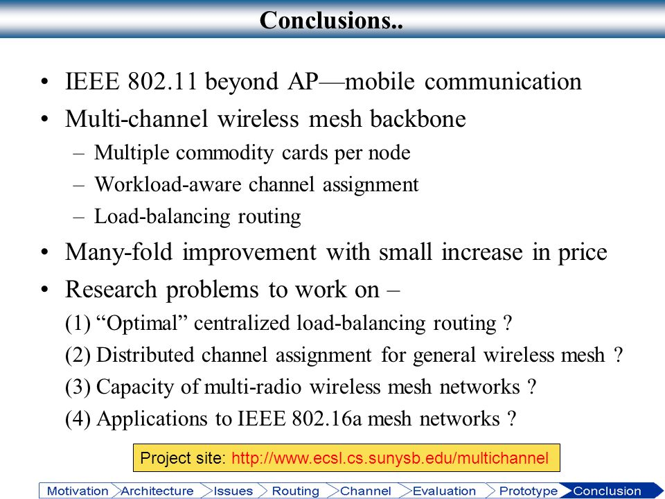 IEEE 802.11 beyond AP—mobile communication
