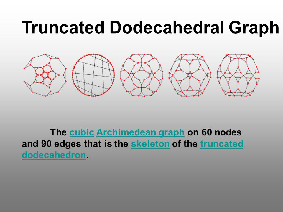 Truncated Dodecahedral Graph