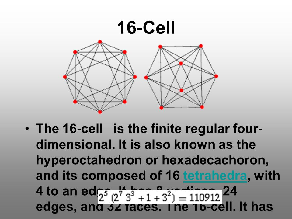 16-Cell