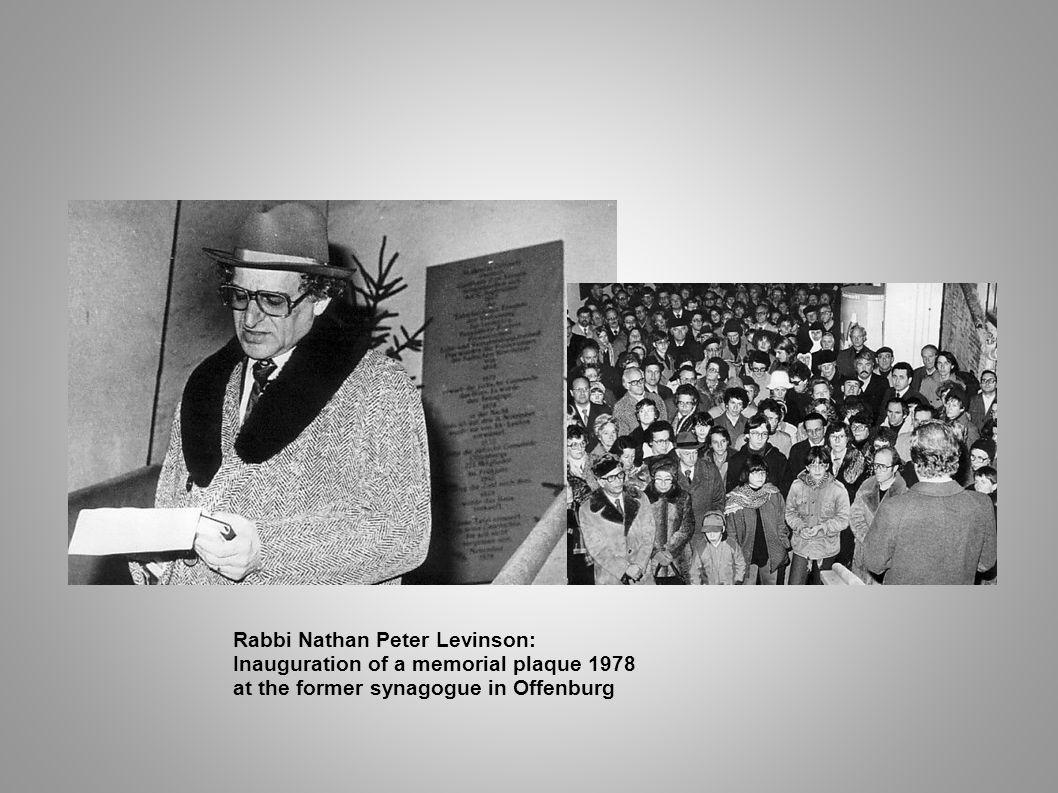 Rabbi Nathan Peter Levinson: