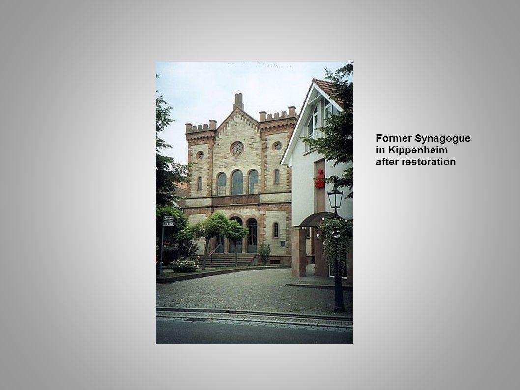 Former Synagogue in Kippenheim after restoration