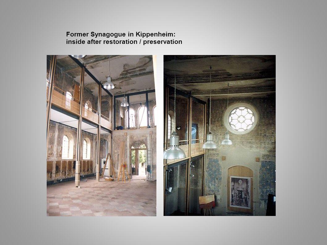 Former Synagogue in Kippenheim: