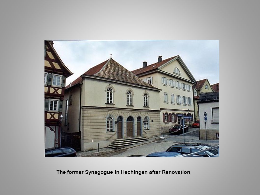 The former Synagogue in Hechingen after Renovation