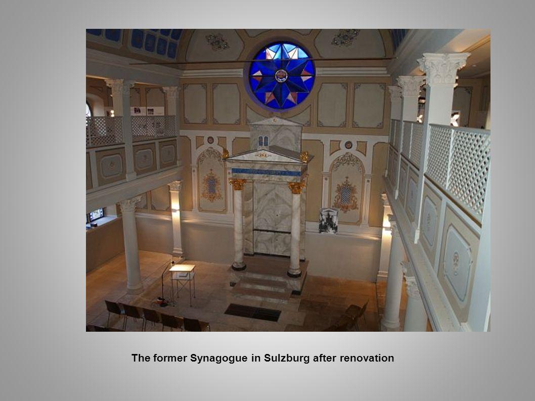 The former Synagogue in Sulzburg after renovation