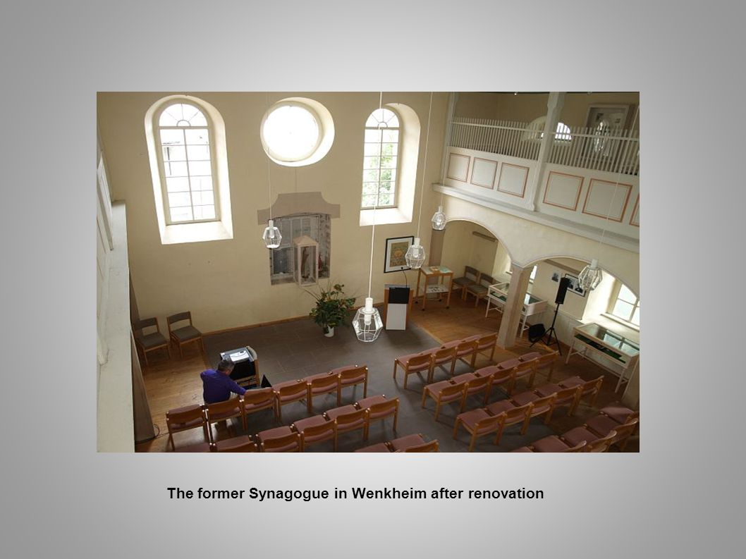 The former Synagogue in Wenkheim after renovation