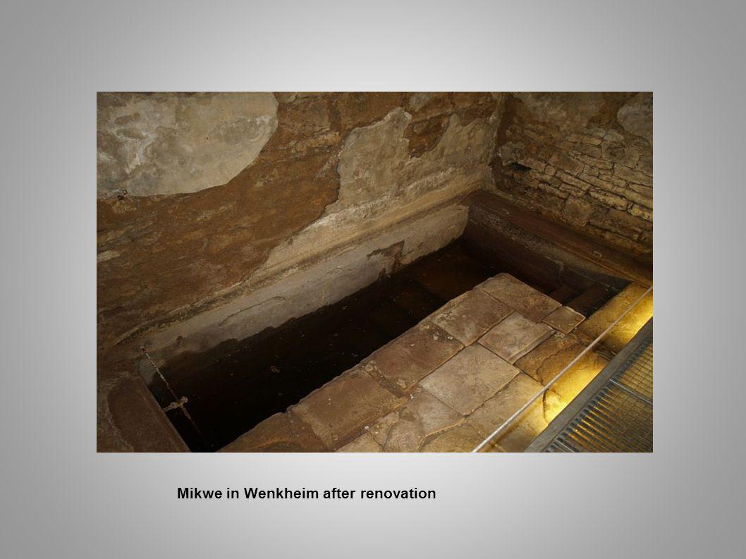 Mikwe in Wenkheim after renovation