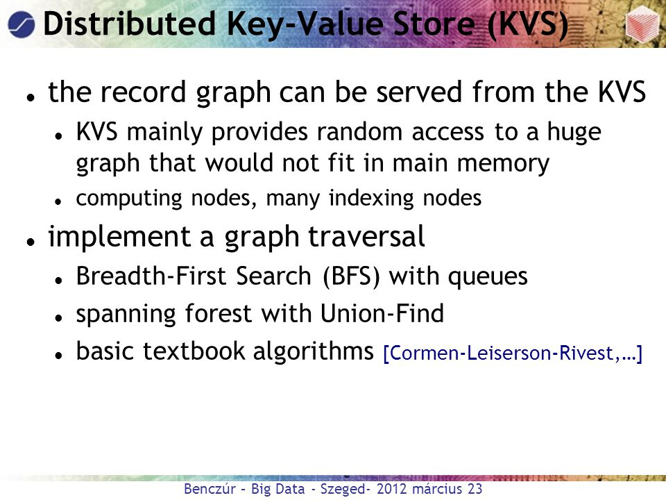 Distributed Key-Value Store (KVS)