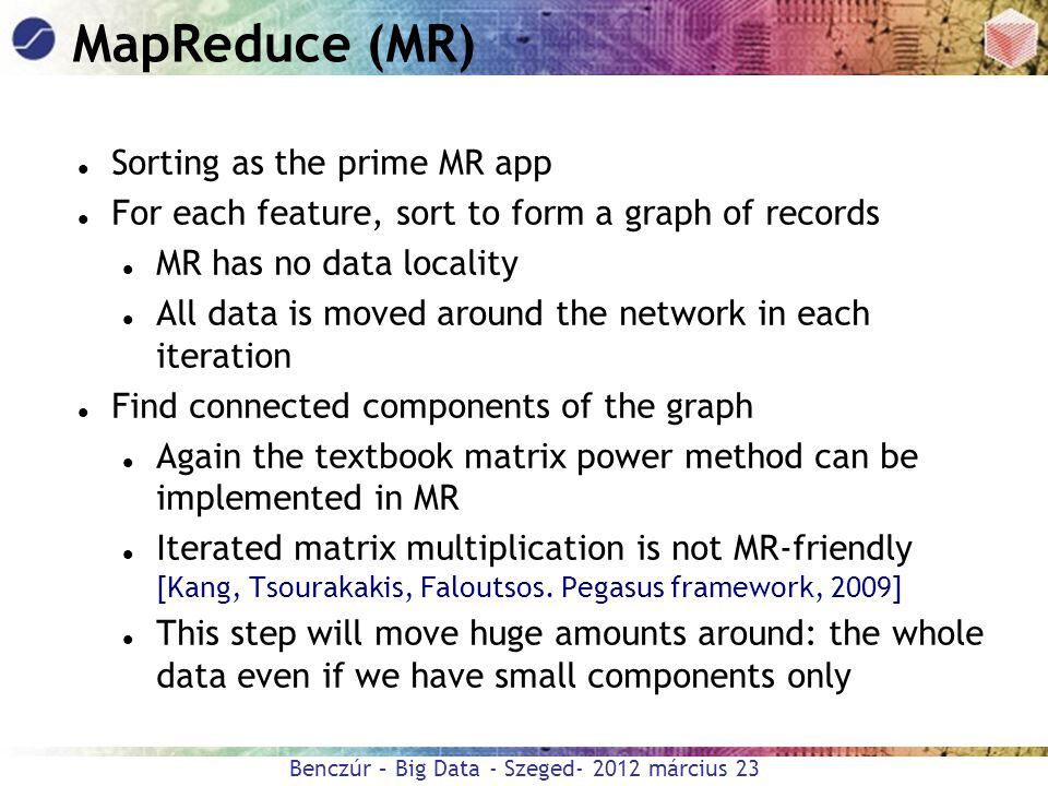 MapReduce (MR) Sorting as the prime MR app