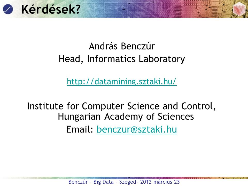 Head, Informatics Laboratory