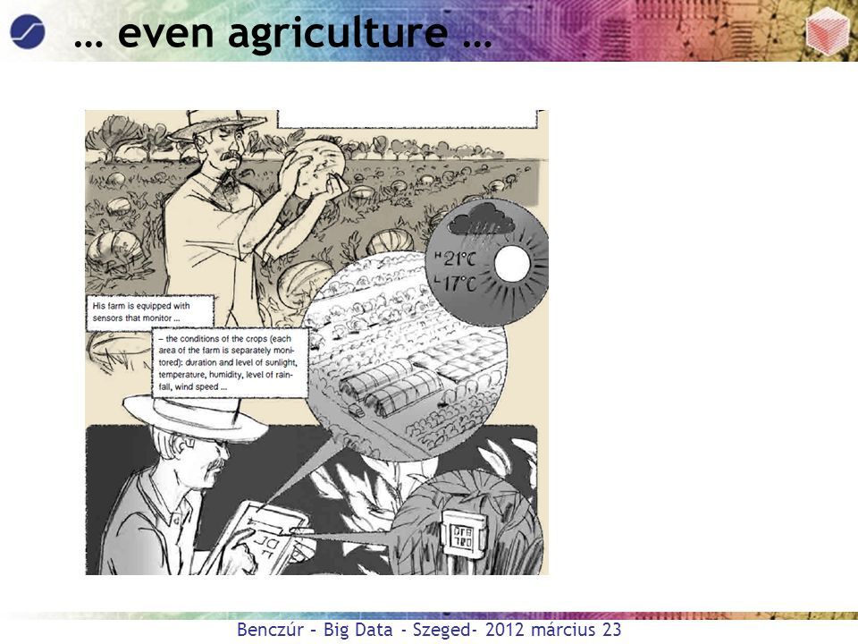 … even agriculture …