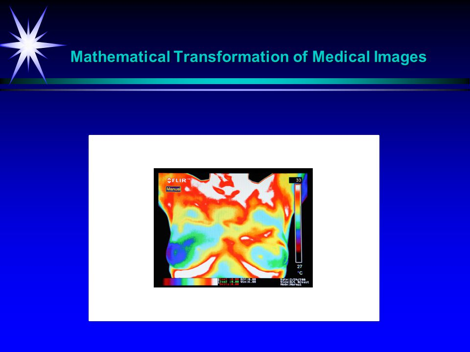 Mathematical Transformation of Medical Images