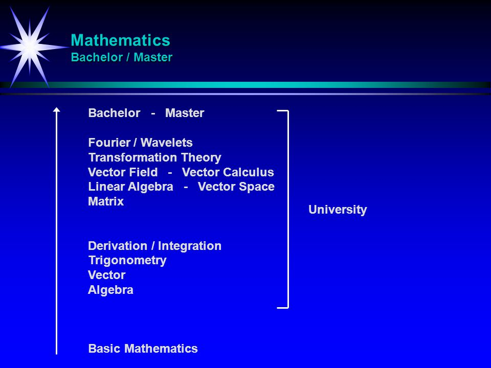 Mathematics Bachelor / Master