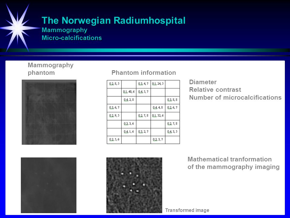 The Norwegian Radiumhospital Mammography Micro-calcifications