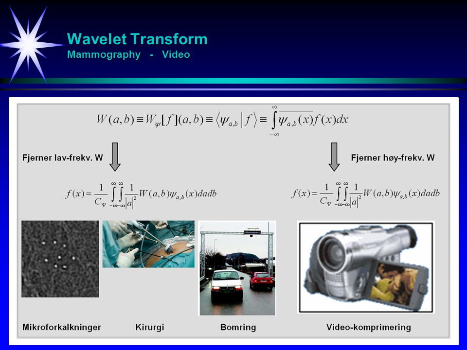 Wavelet Transform Mammography - Video