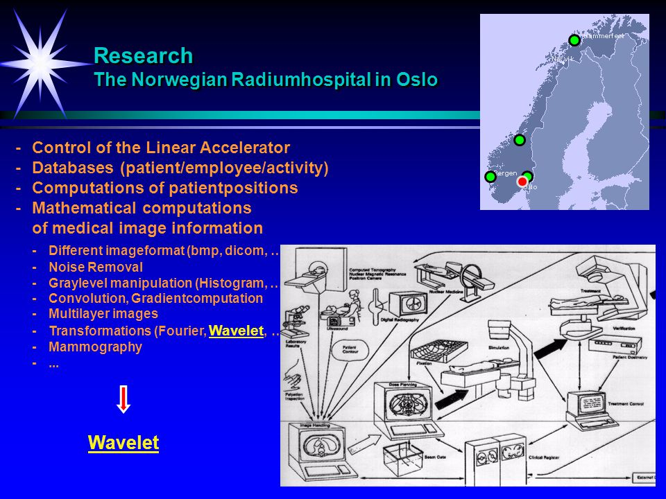 Research The Norwegian Radiumhospital in Oslo