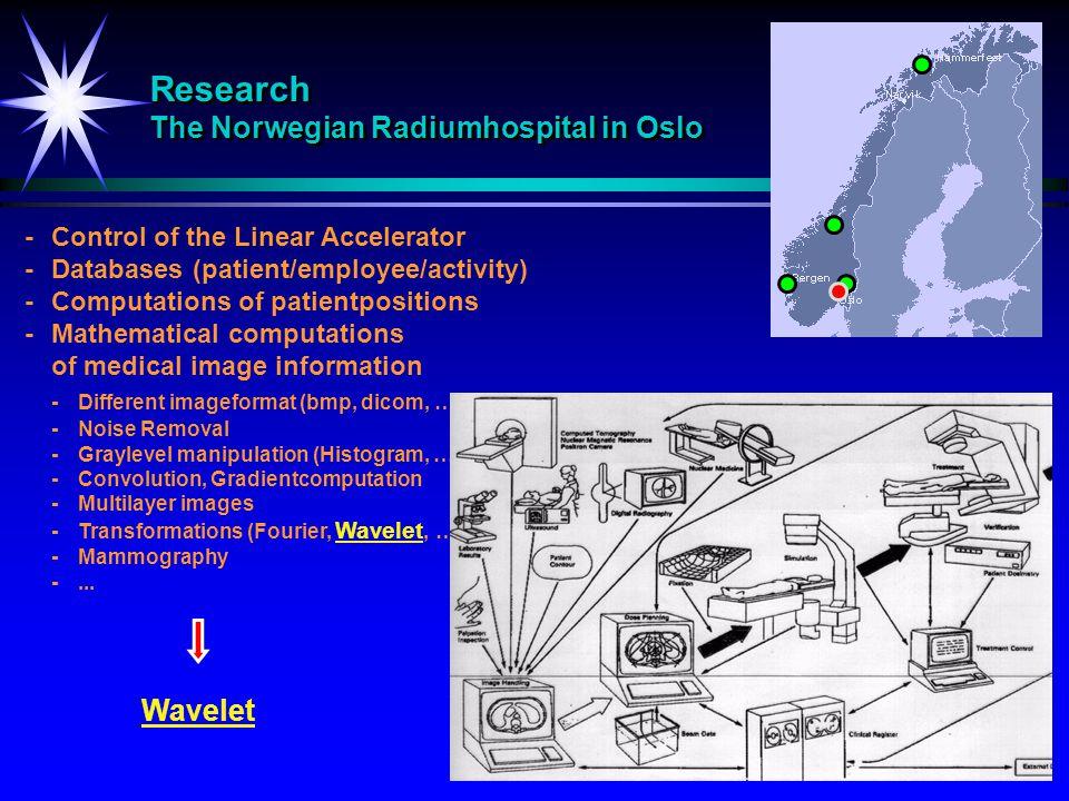 Research The Norwegian Radiumhospital in Oslo
