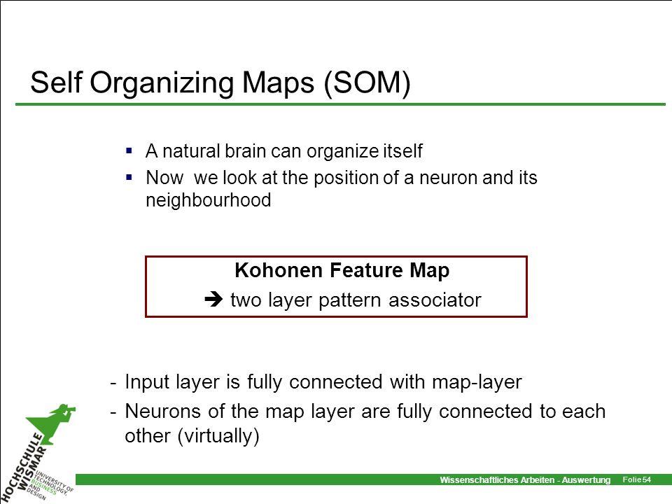 Self Organizing Maps (SOM)