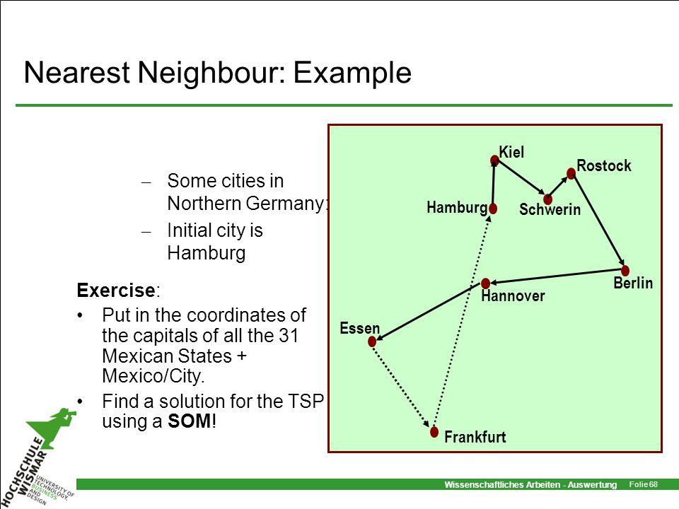 Nearest Neighbour: Example