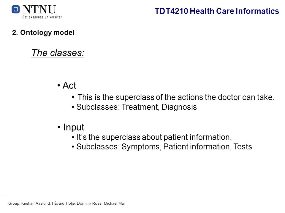 This is the superclass of the actions the doctor can take.