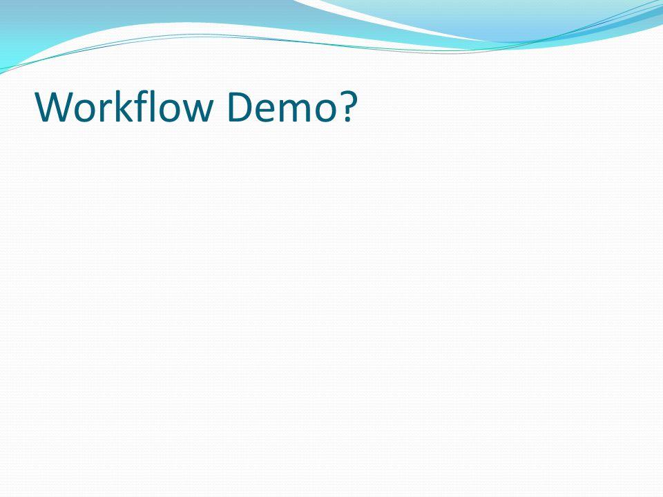 Workflow Demo
