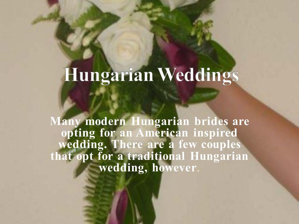 Hungarian Weddings