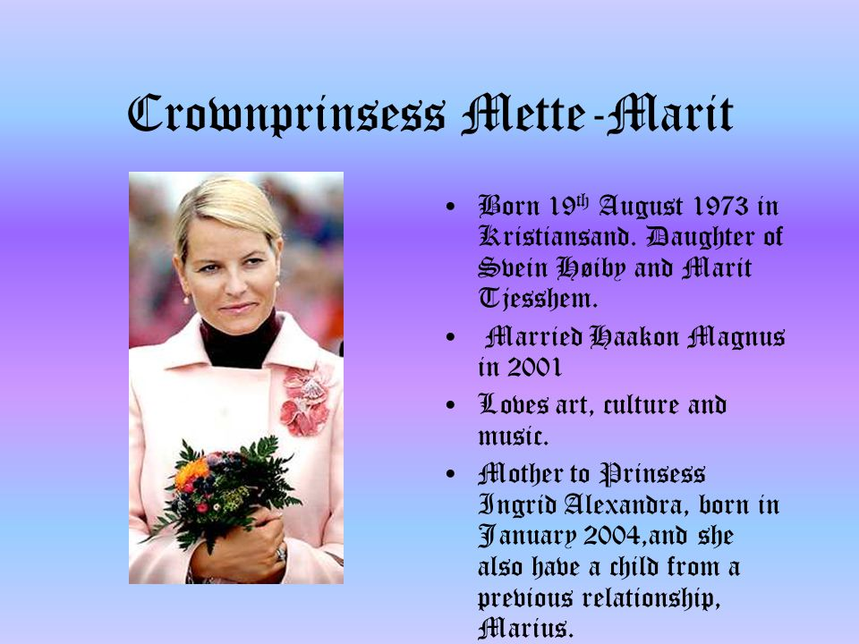 Crownprinsess Mette-Marit