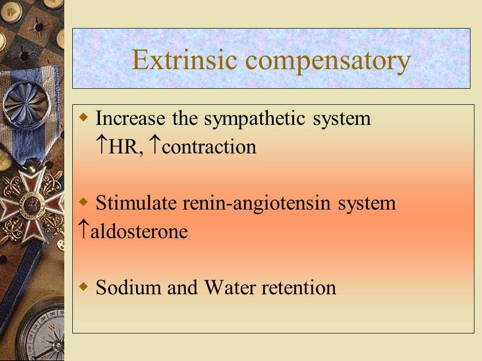 Extrinsic compensatory