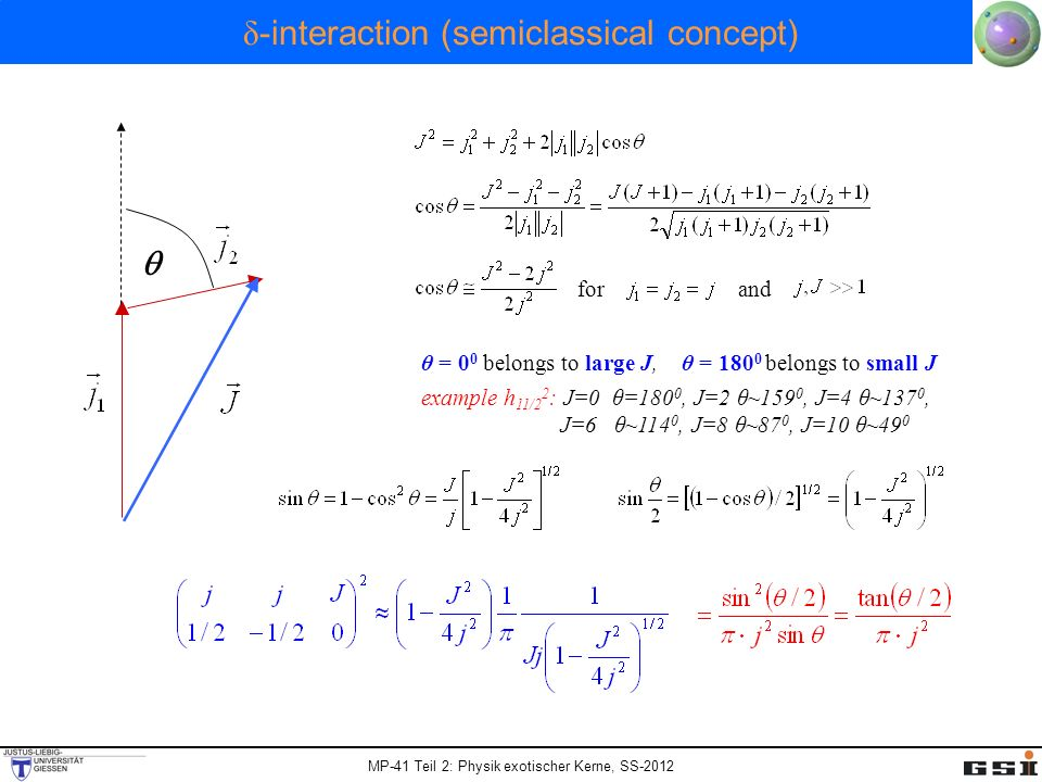 δ-interaction (semiclassical concept)