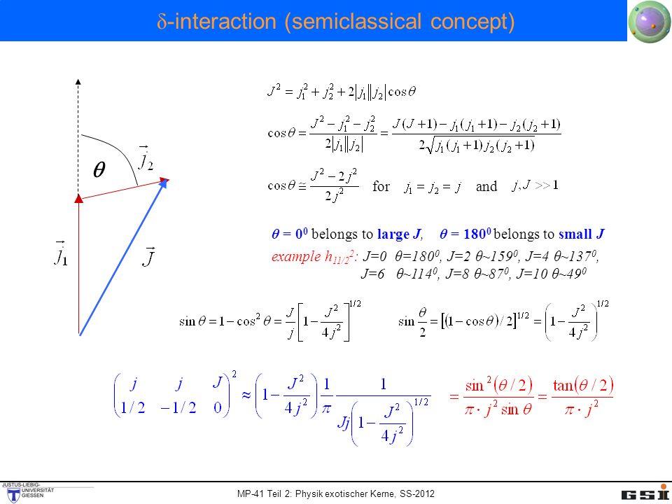 δ-interaction (semiclassical concept)