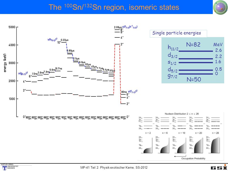 The 100Sn/132Sn region, isomeric states
