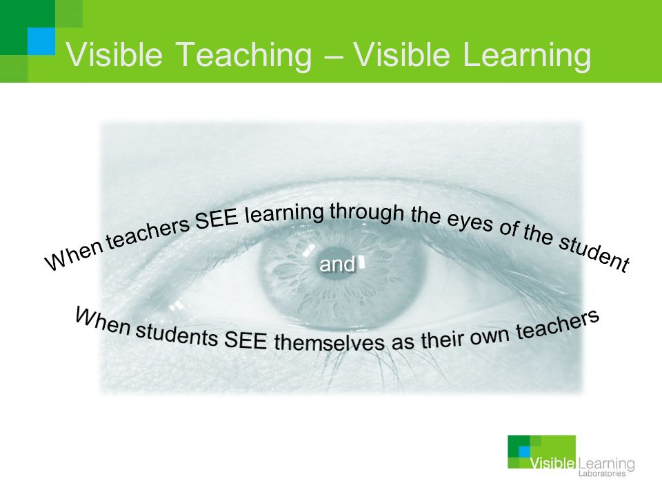 Visible Teaching – Visible Learning