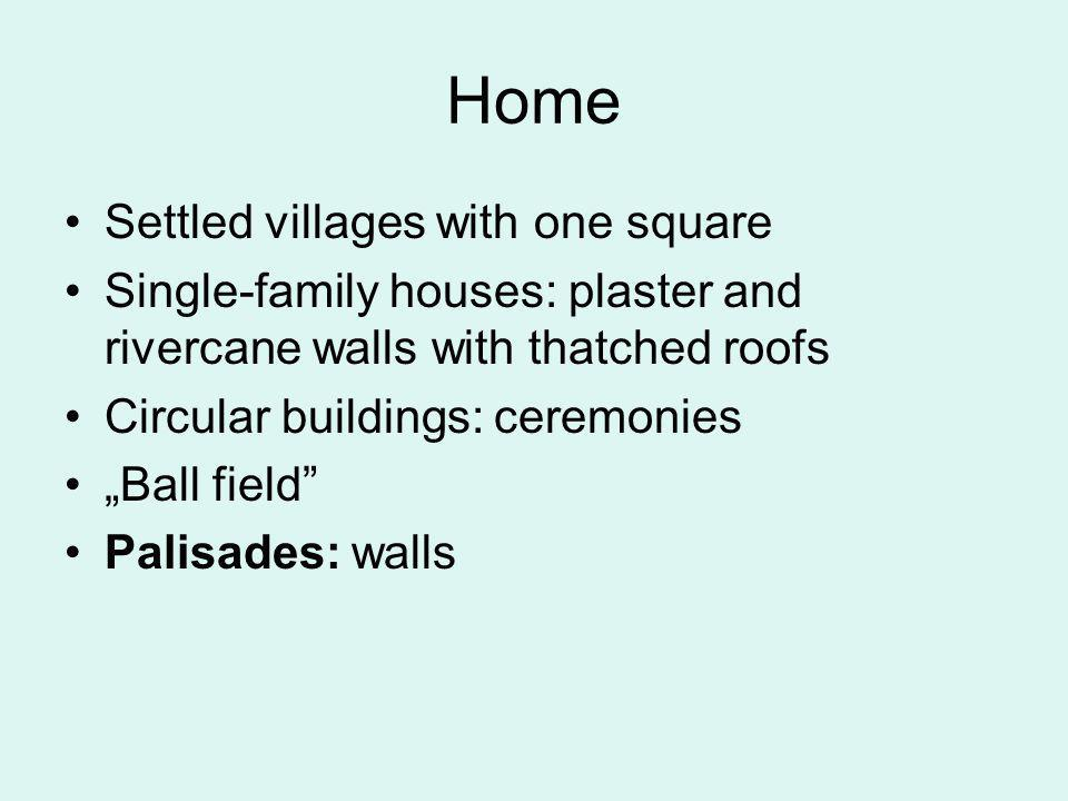 Home Settled villages with one square