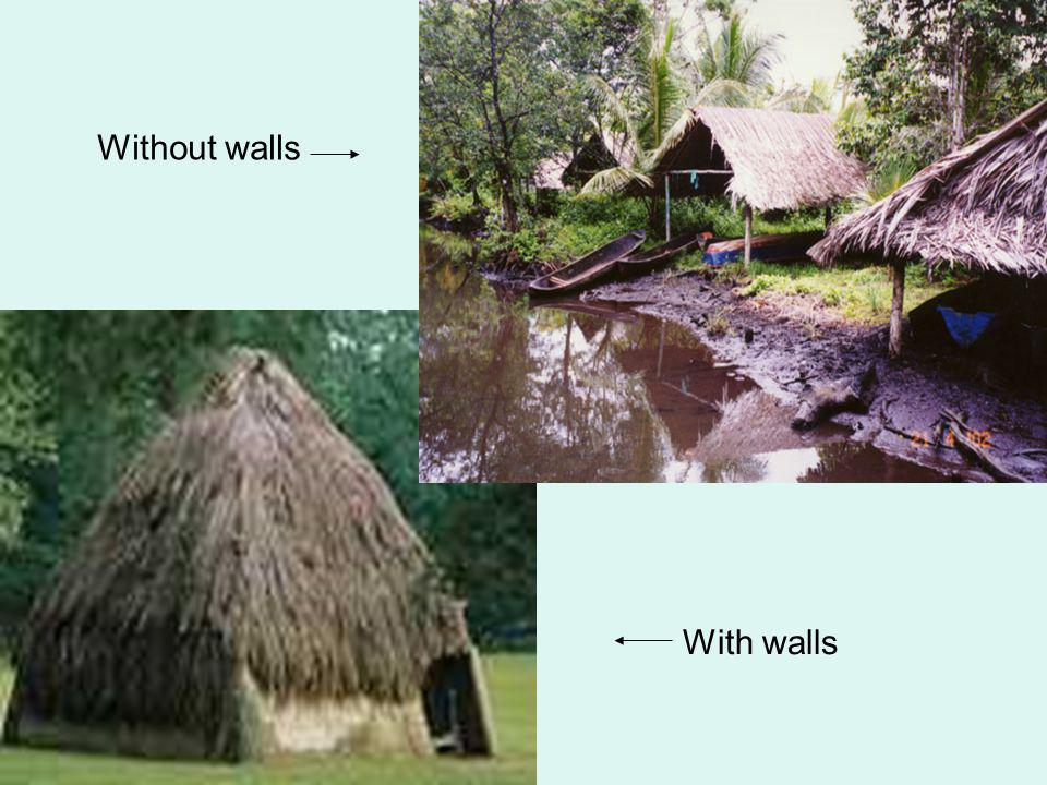 Without walls With walls