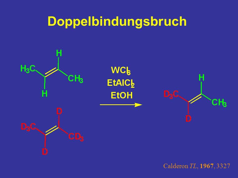 Doppelbindungsbruch Gekreuzte Metathese