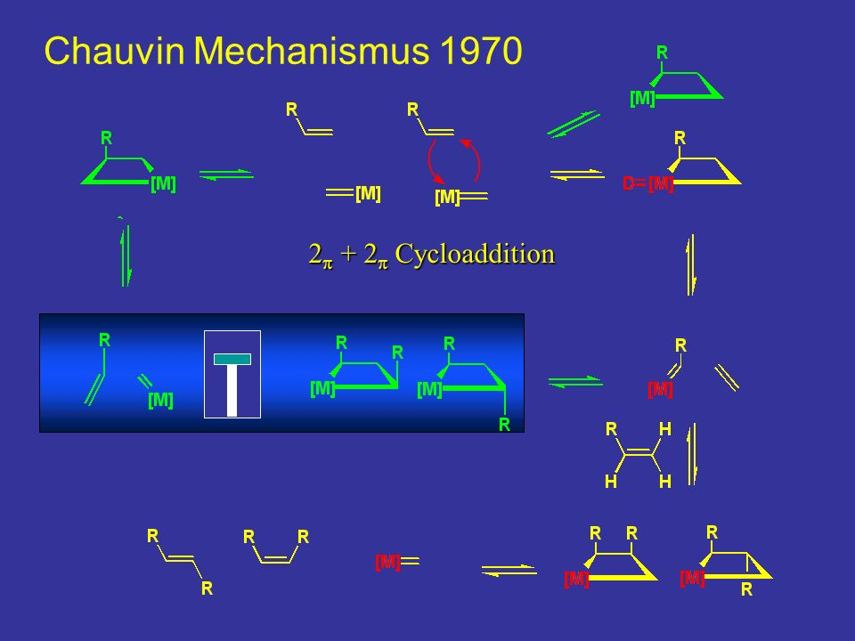 Chauvin Mechanismus kcal 2p + 2p Cycloaddition