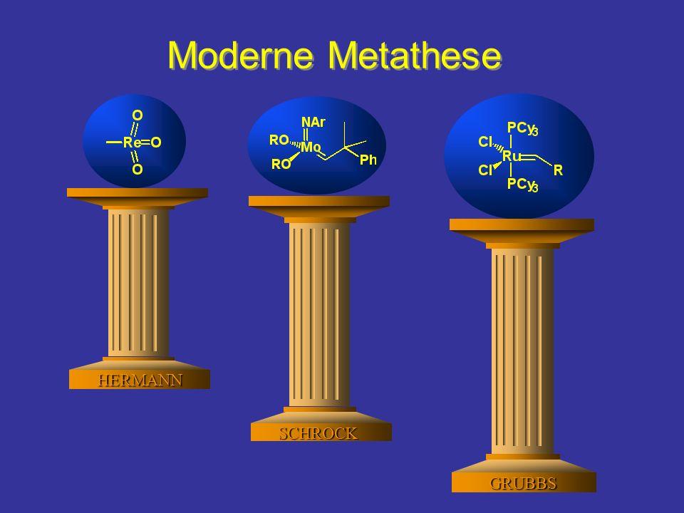 Moderne Metathese Die Ringschlumetathese ruht auf diesen S酳len: