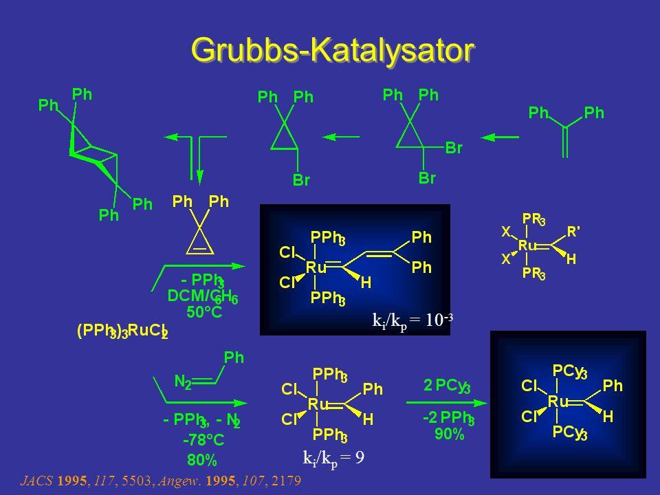 Grubbs-Katalysator Os Analoga Existieren Pyramidale Umgebung