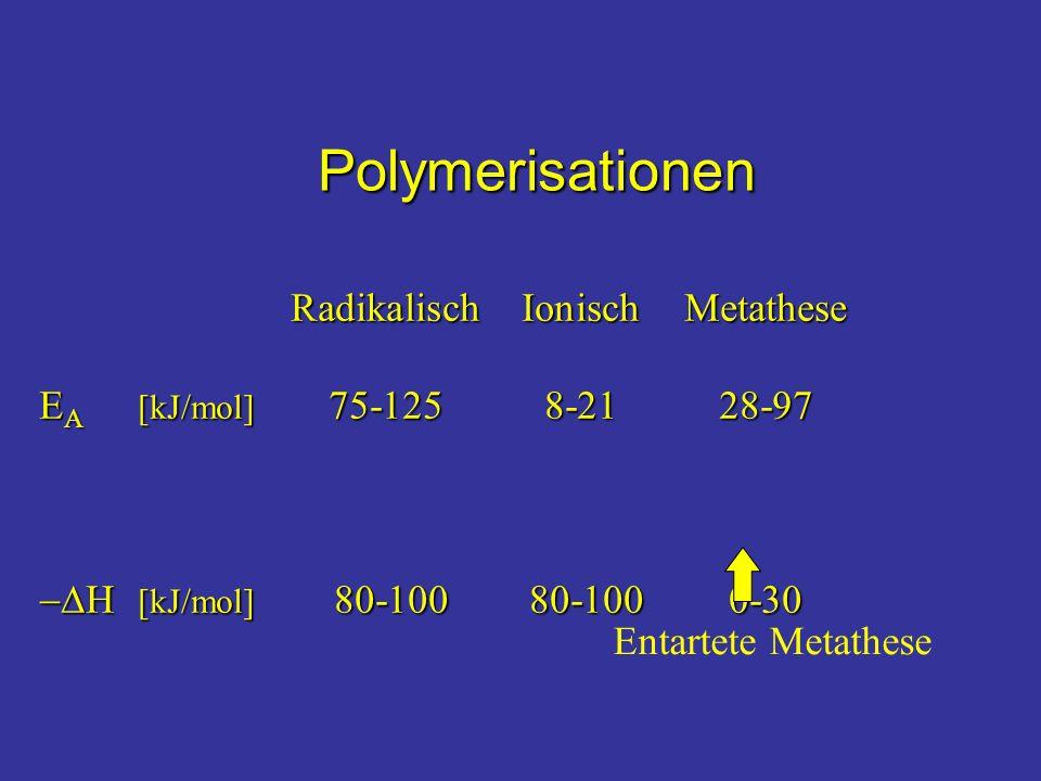 Polymerisationen Radikalisch Ionisch Metathese