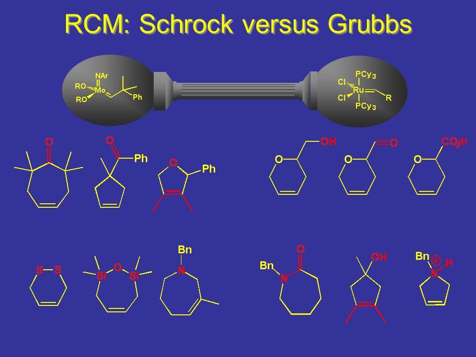 RCM: Schrock versus Grubbs