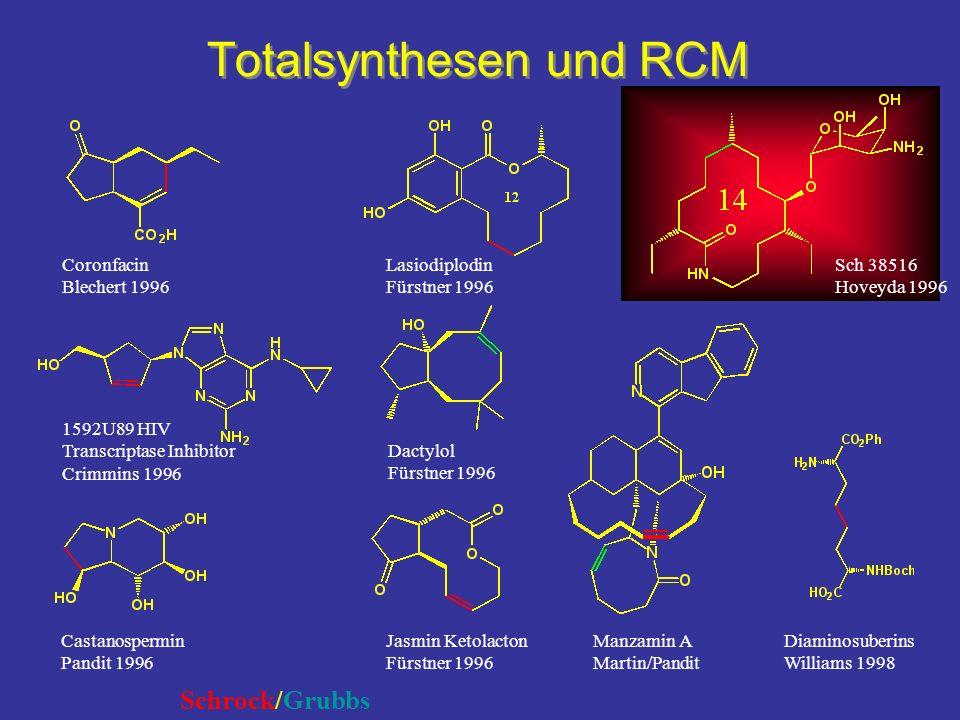 Totalsynthesen und RCM
