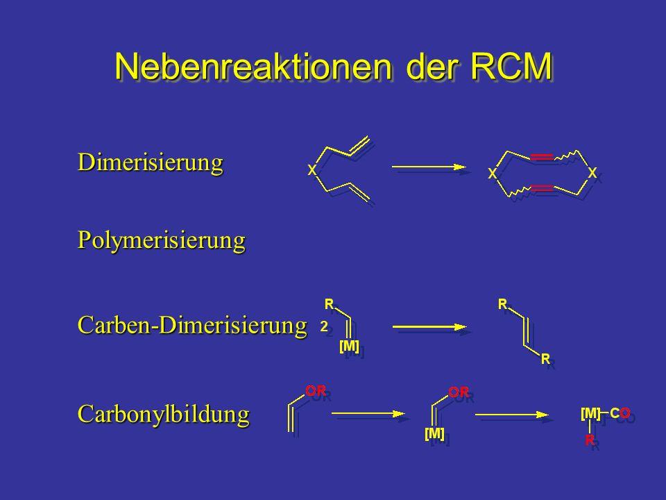 Nebenreaktionen der RCM