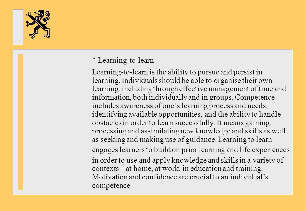 * Learning-to-learn