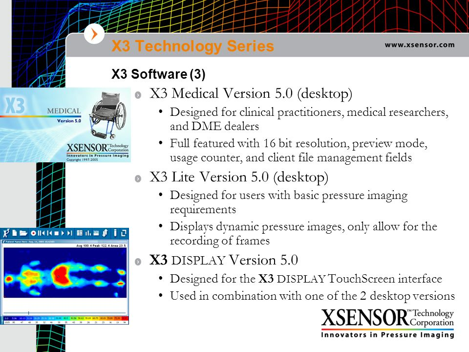 X3 Medical Version 5.0 (desktop)