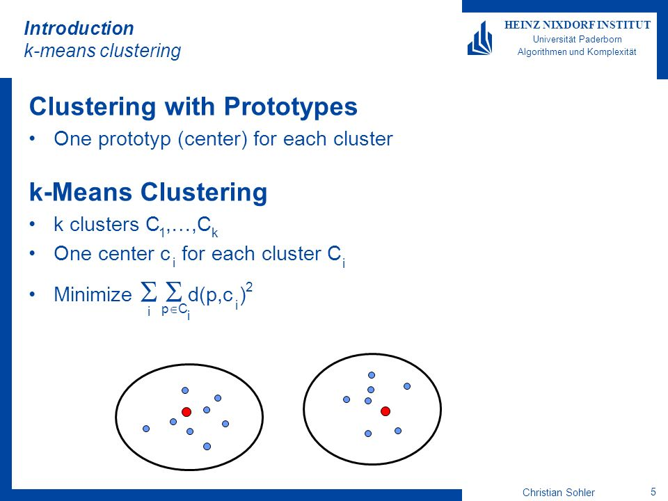 Introduction k-means clustering