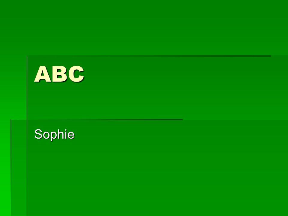 ABC Sophie