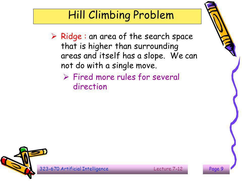The End Hill Climbing Problem