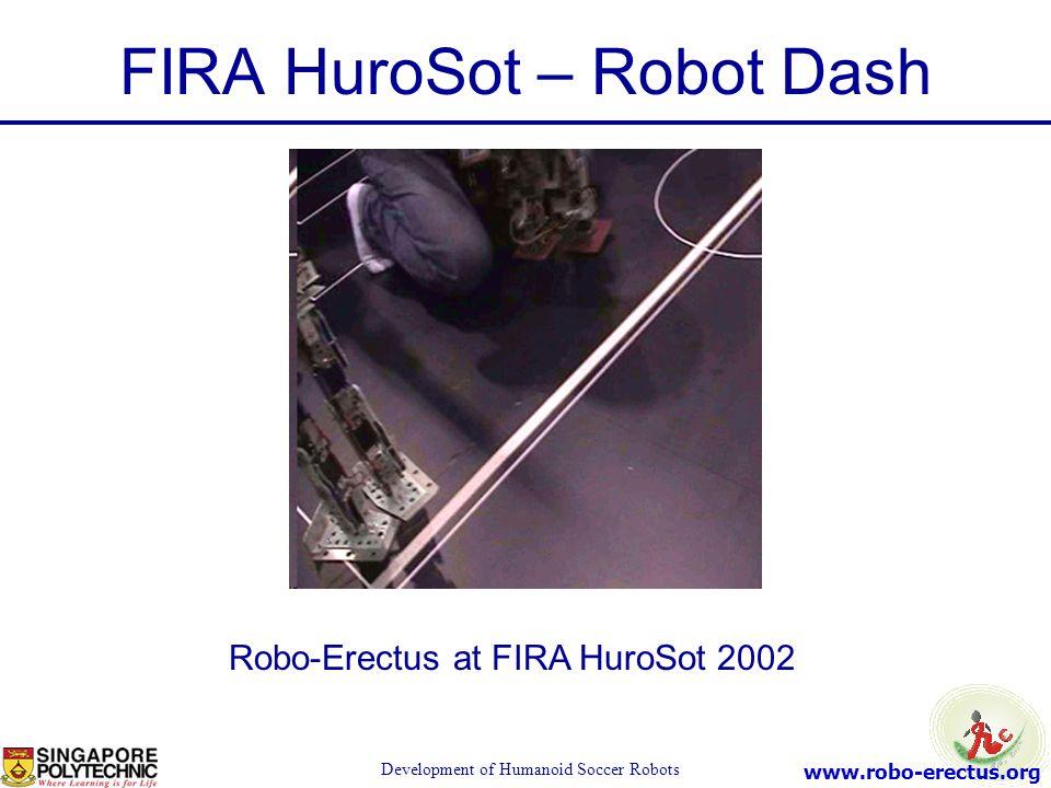 FIRA HuroSot – Robot Dash