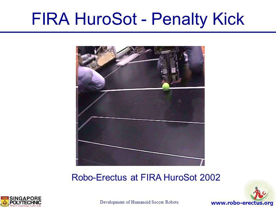 FIRA HuroSot - Penalty Kick
