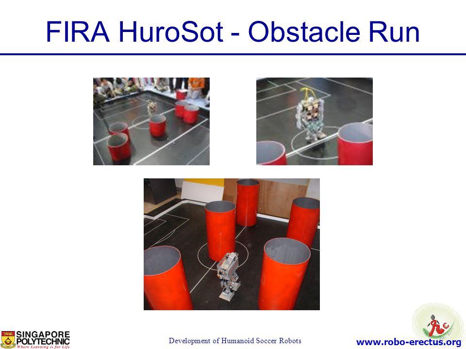 FIRA HuroSot - Obstacle Run