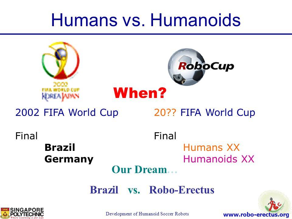 Brazil vs. Robo-Erectus